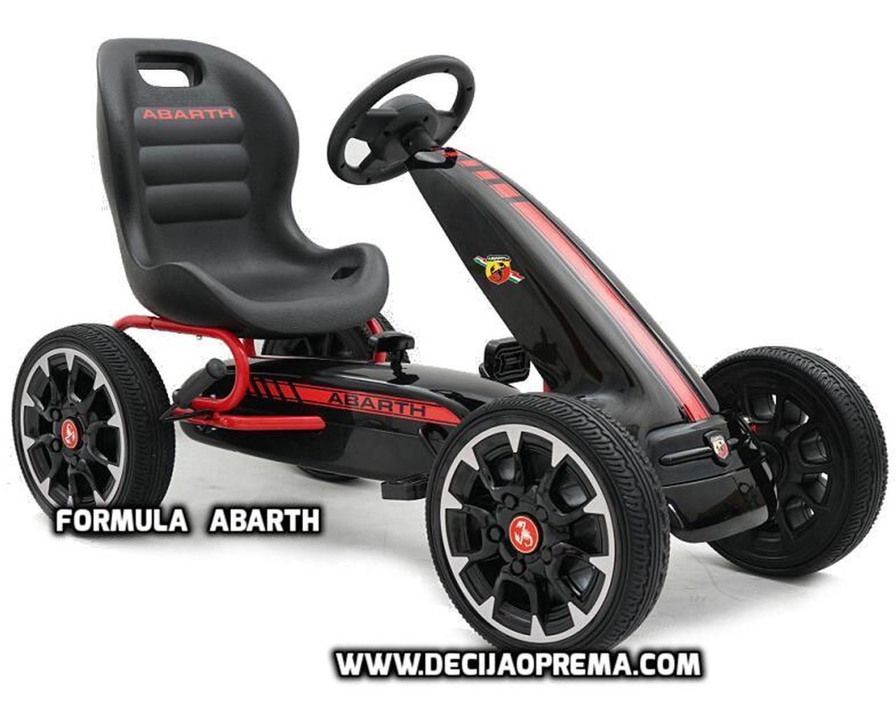 Karting auta na pedale