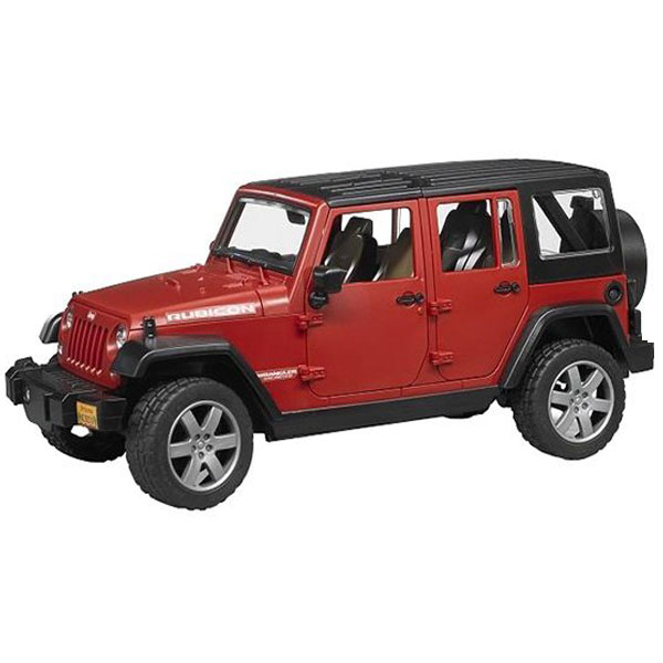 Džip JEEP WRANGLER Unlimited Rubicon Bruder-025250