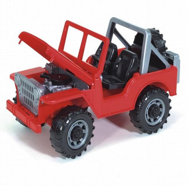 Jeep auto crveni Bruder-025403