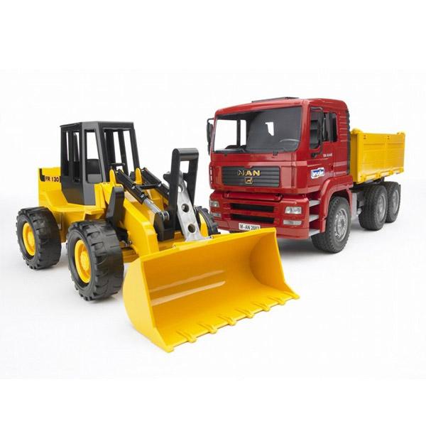 Kamion MAN sa utovarivačem FR130 Bruder-027520