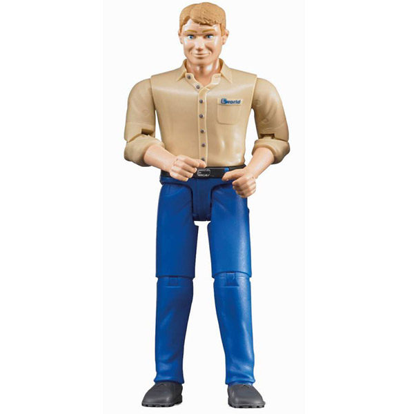 Figura čovek  plavi jeans-600068