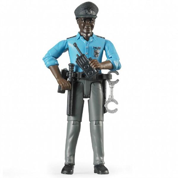 Figura čovek Policajac crnac Bruder-600518
