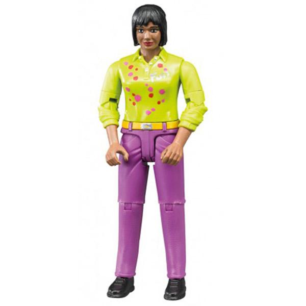 Figura žena  roze jeans Bruder-604035