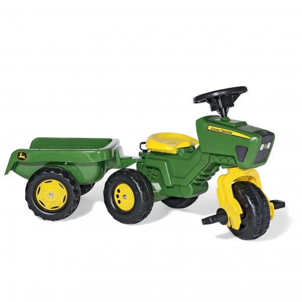 Traktor John Deere trac na pedale sa prikolicom 052769
