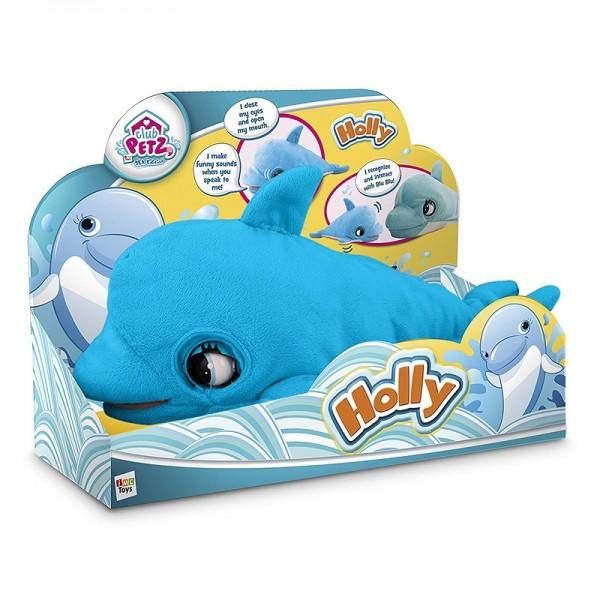 Pliš beba delfin Holly