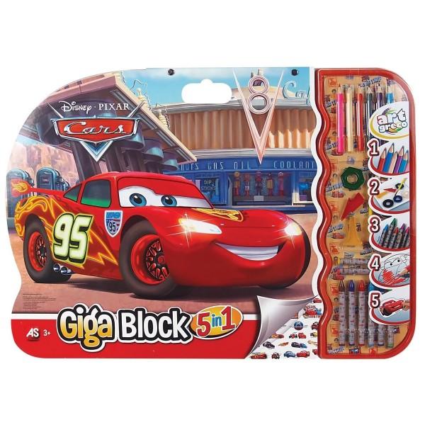 GIGA BLOCK 5 IN 1 CARS