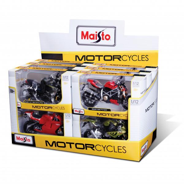 Igračka Metalni motor 1:12 sorto
