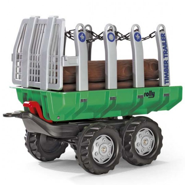 Prikolica za drva Rolly Toys-122158