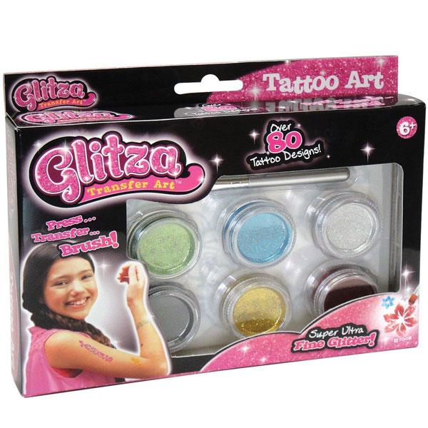 Set tatoo Glitza ulepšaj sama svoj pribor Knorr Toys-075084