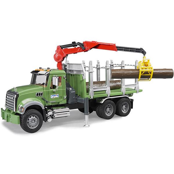 Kamion Mack sa drvima