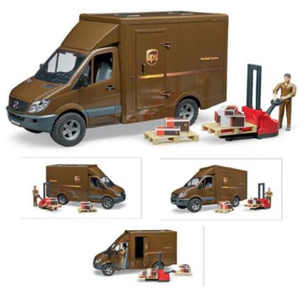 Kamion Sprinter UPS sa paletarom