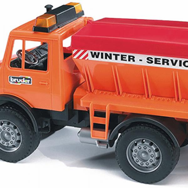 Kamion MB Unimog Winter servis