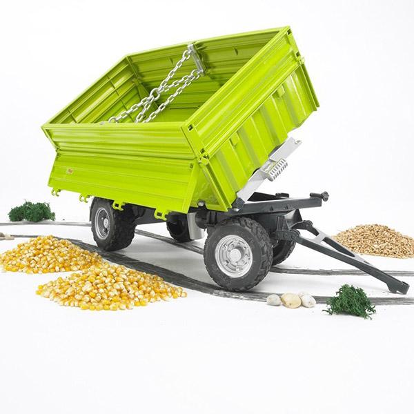 Prikolica zelena Bruder-022037
